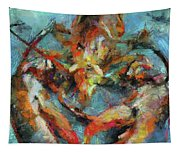 Lobster Tapestry