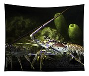 Lobster In Love Tapestry