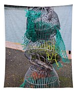 Lobster Pots Tapestry