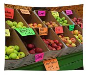 Local Apples For Sale Tapestry