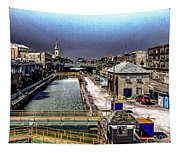 Lockport Canal Locks Tapestry