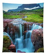 Logan Pass Abyss Tapestry