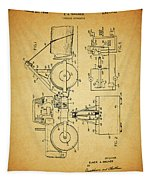 Logging Truck Patent Tapestry