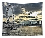 London A View From A Bridge  Tapestry