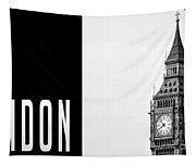 London Big Ben Tapestry