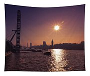 London By Night By Day Tapestry