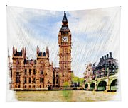 London Calling Tapestry