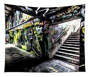 London Graffiti Art Tapestry