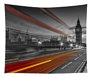 London Red Bus Tapestry