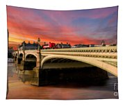 London Sunset Tapestry