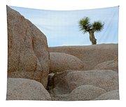 Lone Joshua Tree Tapestry