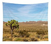 Lone Joshua Tree - Pleasant Valley Tapestry