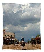 Lone Rider Tapestry