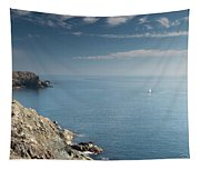 Lone Sail Tapestry