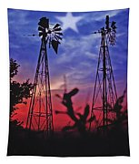 Lone Star Sunset Tapestry
