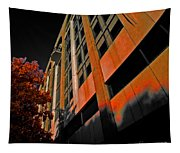 Lonely Balkony Infrared Color 80 Tapestry