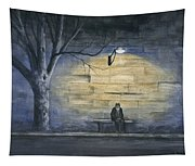 Lonely In Paris Tapestry