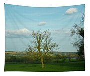 Lonely Tree Cotswold England Tapestry