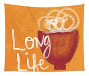 Long Life Noodle Bowl Tapestry