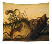 Long - Tailed Weasel Tapestry
