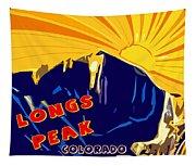 Longs Peak Tapestry