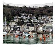 Looe Harbour - Cornwall Tapestry