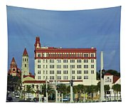 Looking Back At St Augustine Tapestry