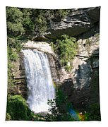 Looking Glass Falls Nc Tapestry