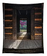 Looking Through John Oliver's Cabin Tapestry