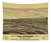 Los Angeles 1877 Tapestry