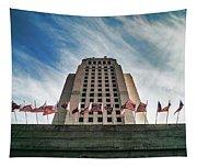 Los Angeles City Hall Tapestry