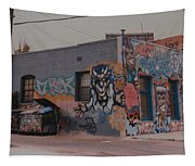Los Angeles Urban Art Tapestry