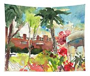 Los Gigantes In Tenerife 03 Tapestry