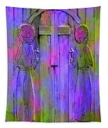 Los Santos Cuates - The Twin Saints Tapestry