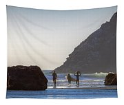 Lost Coast Surfers Tapestry