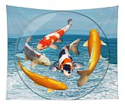 Lost In A Daydream - Fish Out Of Water Tapestry