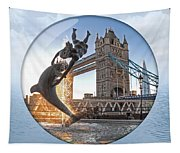 Lost In A Daydream - Floating On The Thames Tapestry
