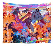 Lost In Colorado Tapestry