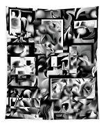 Lost In Dimension V Tapestry