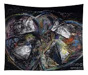Lots Of Heart Tapestry