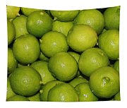 Lots Of Limes Tapestry