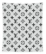 Louis Vuitton Pattern Lv 07 Grey Tapestry
