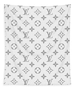 Louis Vuitton Pattern - Lv Pattern 14 - Fashion And Lifestyle Tapestry