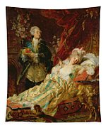 Louis Xv And Madame Dubarry Tapestry