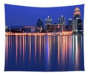 Louisville Lights Up Nicely Tapestry