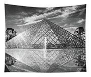 Louvre Pyramid, Paris Tapestry