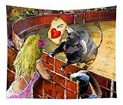 Lova Bull Tapestry
