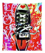 Love And Converse Tapestry