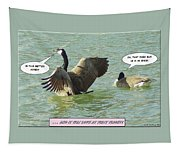 Love At First Flight Tapestry