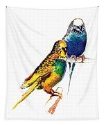 Love Birds Tapestry